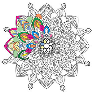 Discover our free printable Mandalas ! - 100% Mandalas Zen & Anti-stress