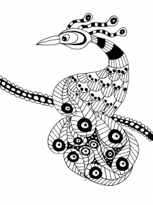 coloring-page-bird