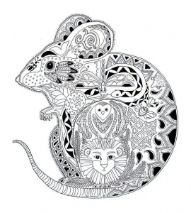 coloring-page-mouse