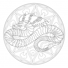 coloring-to-print-mandala-dragon-4 free to print