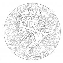 coloring-to-print-mandala-dragon-5 free to print