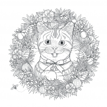 mandala-to-download-cute-and-funny-cat free to print