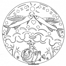 mandala to download fishes 2