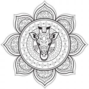 Mandalas With Animals 100 Mandalas Zen Anti Stress