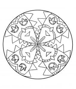 Carnival Mandala