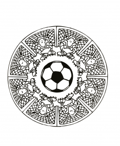 mandalas foot