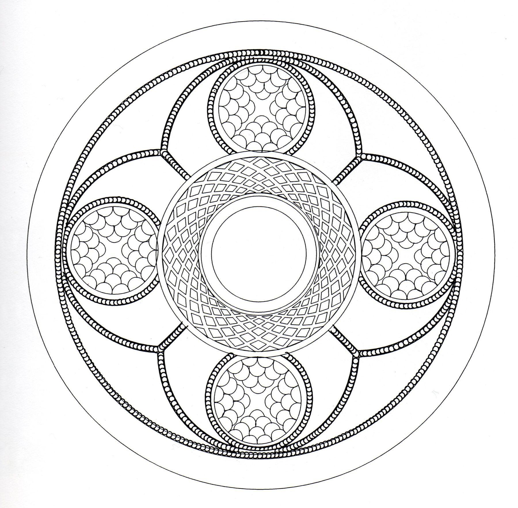 Mandala celtic 1
