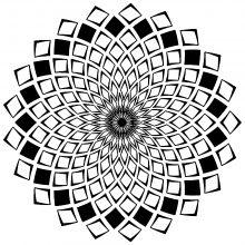 mandala complex squares