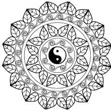 mandala complex yin yang