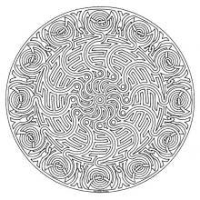 mandala to color adult difficult (15)