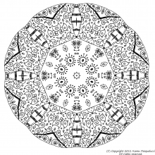 mandala to color adult difficult (16)