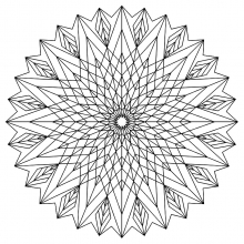 mandala to color adult difficult (18)