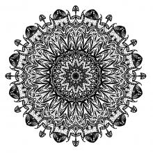 mandala to download difficult