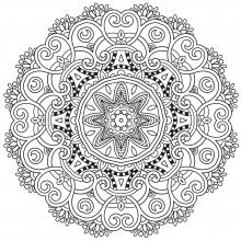 mandala-to-download-spring free to print