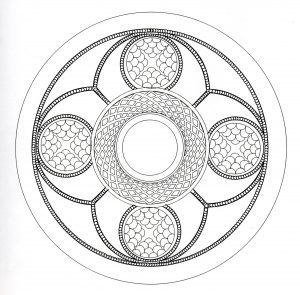 """Celtic Art"" Mandala coloring page   1"