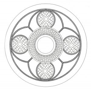 """Celtic Art"" Mandala coloring page   4"