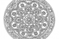 Mandala to color adult difficult (22)