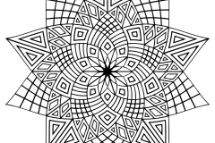 Mandala to color adult difficult (23)