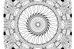 Mandala to color adult difficult (33)