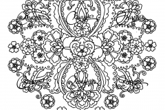 Mandala to color adult difficult (9)