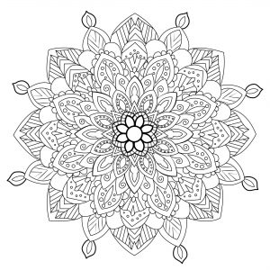 Cute and unique Anti stress Mandala
