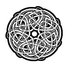 mandala-celtic-style-by-owen-wills free to print