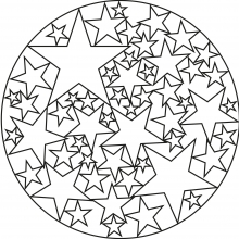 Easy Mandalas for kids  100 Mandalas Zen  Antistress