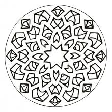 mandala-to-download-magical-stars free to print