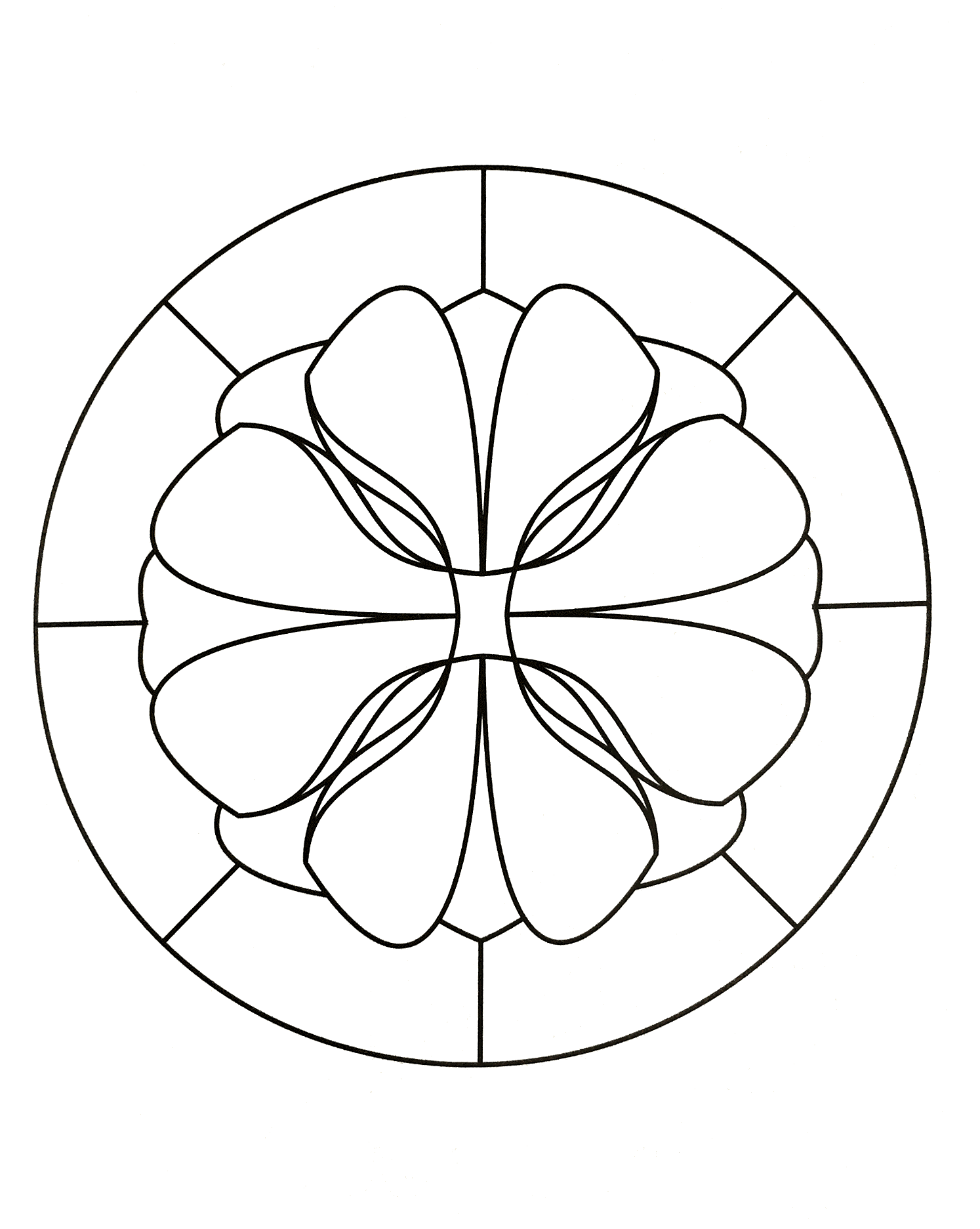 A perfect Mandala if you want easy coloring pages or if you search coloring pages for kids. Coloring helps to develop and strengthen the hand muscles, which later helps children with activities like lifting objects and typing.