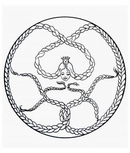 """""""Raiponce"""" Mandala"""