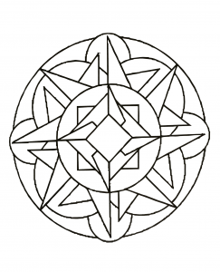 Mandala to download and print