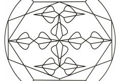 Cool simple Mandala