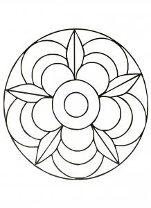 Flower in a Mandala
