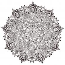 Vegetal Mandala Anvino