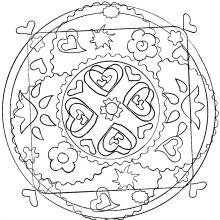 flowers-mandala-by-domandala-12 free to print