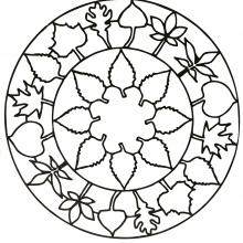 mandala-flower free to print
