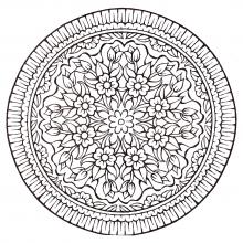 mandala-vintage-style-flowers free to print