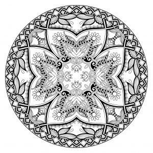 Complex & Original Mandala