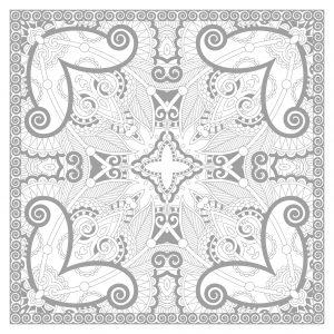 Squared and complex Mandala