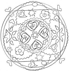 Cute Mandala