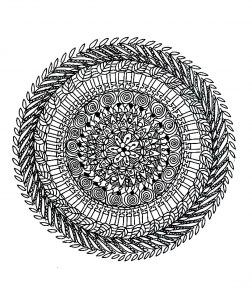Mandala with little details