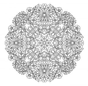 Magical Flower Mandala
