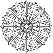 Coloring mandala celtic art 31