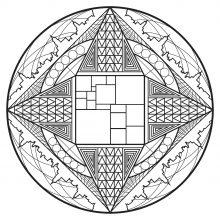 mandalas with geometric patterns 100 mandalas zen anti stress