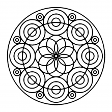 mandala-different-kind-of-circles free to print