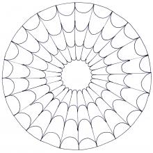 Mandala Simple Cobweb