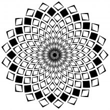 Mandalas With Geometric Patterns 100 Mandalas Zen