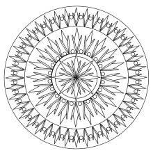 simple mandala geometric 2
