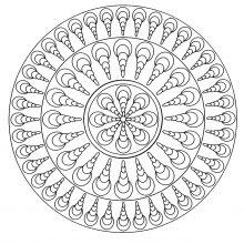 simple mandala geometric 4