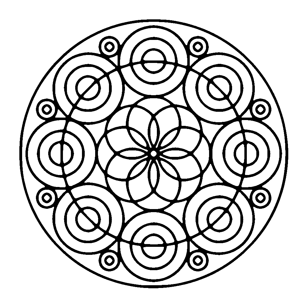 Mandala different kind of circles | Mandalas with